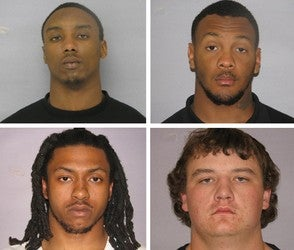Four Auburn Players Arrested On Robbery Charges