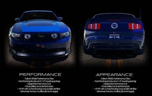 Mustang RTR Gallery