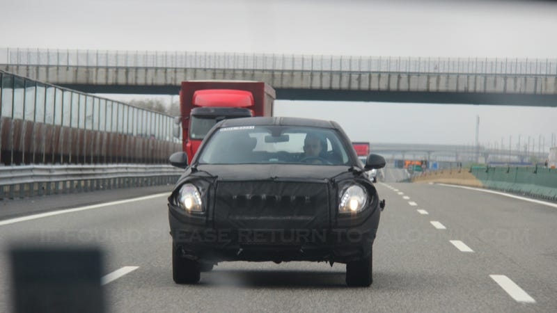 Is This The New Mini-Jeep Testing In Italy?