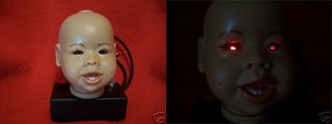 Dismembered Baby's Head Theremin is One Badass Musical Instrument