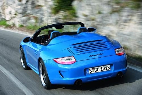 2011 Porsche 911 Speedster: Press Photos