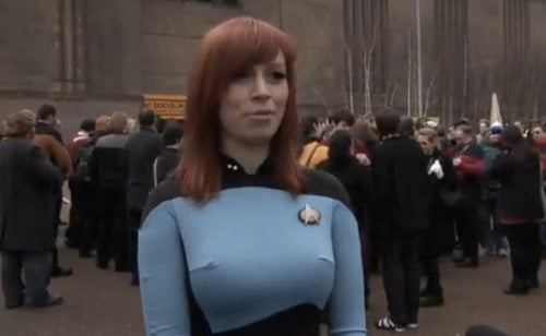 Britons Set World Record For Most People Dressed In Star Trek Regalia?