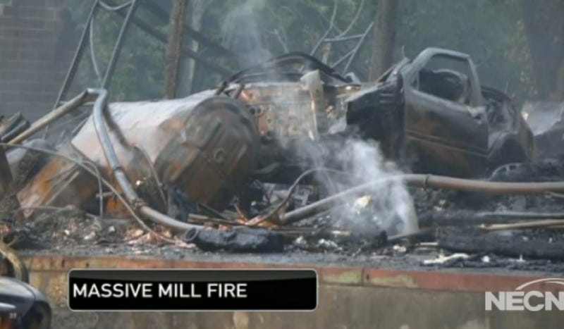 A Building Fire In Massachusetts Claimed $2 Million In Classic Cars Last Night