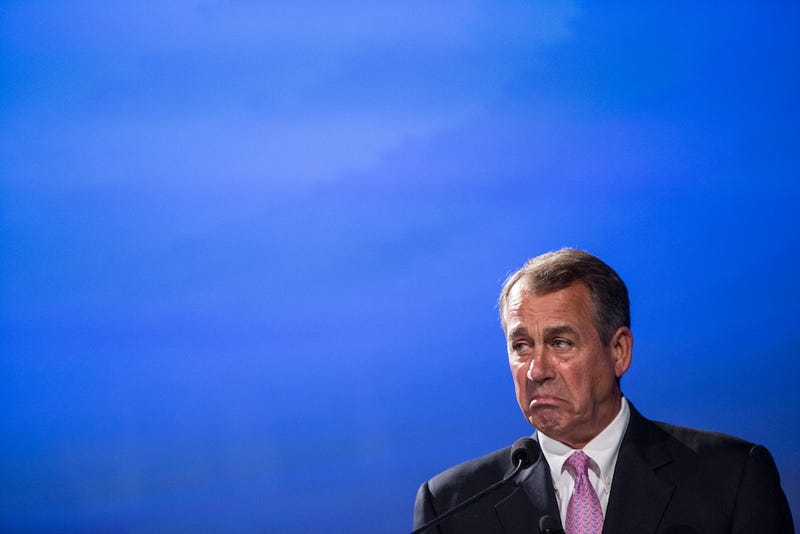 John Boehner is so Powerless That He Prayed on the House Floor Tonight
