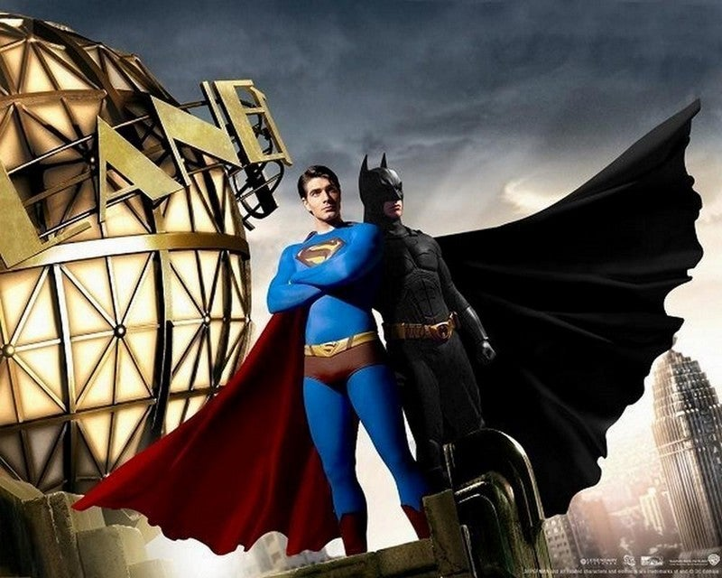 Don't hold your breath for the big Superman/Batman movie crossover