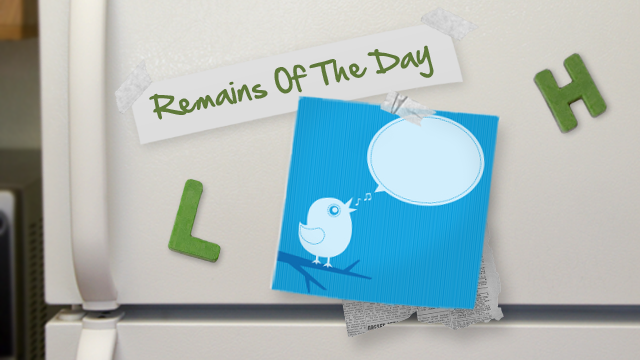 Remains of the Day: Your Address Book May Be Stored on Twitter's Servers