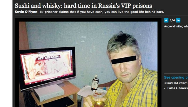 In Russia, Prison Sounds Awesome