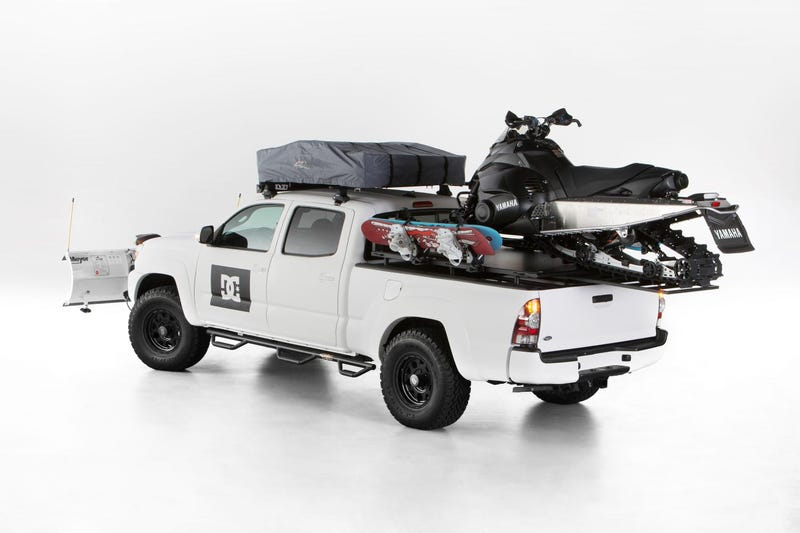 Brace Yourselves With This Winterproof Snowplow Tacoma