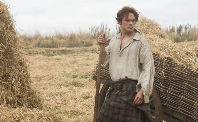 We Are So Ready for The Kilt to Drop on Ron D. Moore's Outlander Series