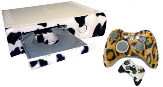 Xbox 360 Furry Faceplates Bring the Wild to Your Living Room