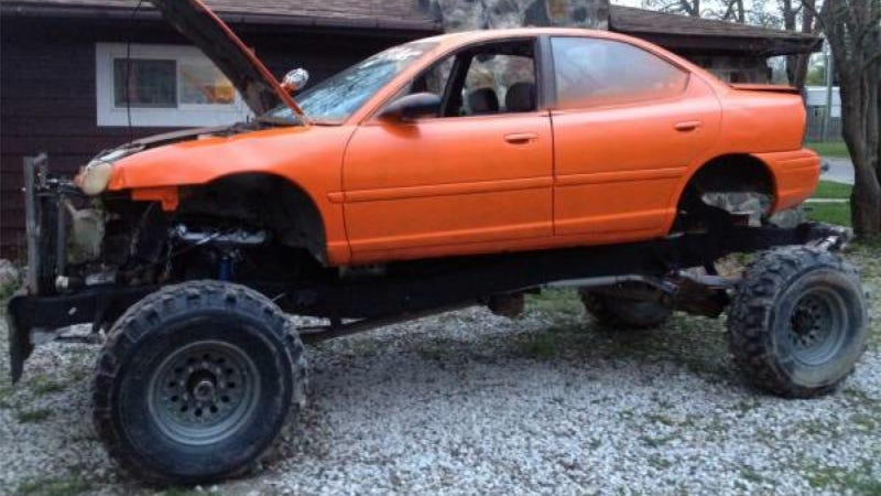 A Dodge Neon Mud Truck For The Frugal Redneck Who Wants To Have It All