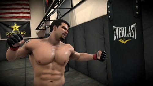 EA Sports MMA Career Mode Screens