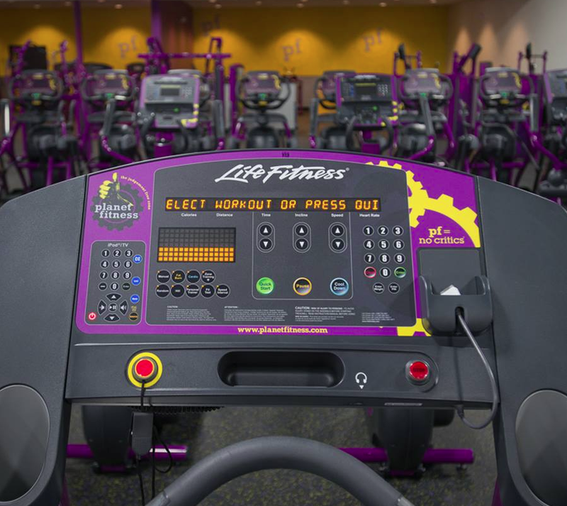 Burn Planet Fitness to the Ground