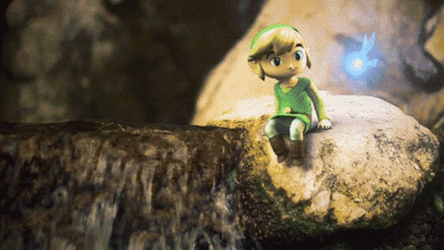 Fan Animation Turns Link Pikmin-Sized