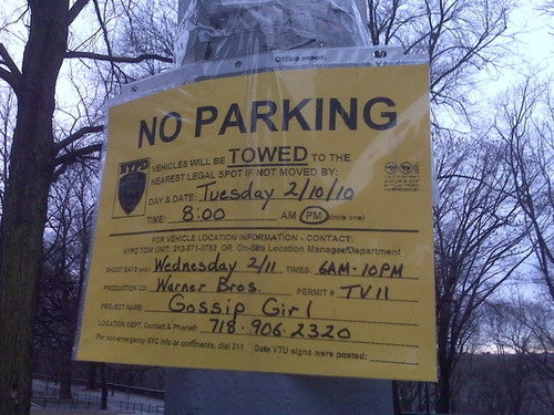 Hungry Coyotes Descend on Columbia Campus in Advance of Gossip Girl Shoot