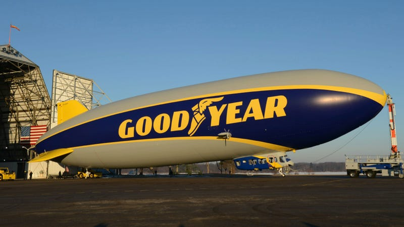 This Is The New Bigger And Faster Goodyear Blimp