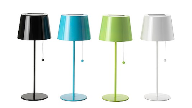 These Stylish Solar Lamps Are Only 20 Bucks