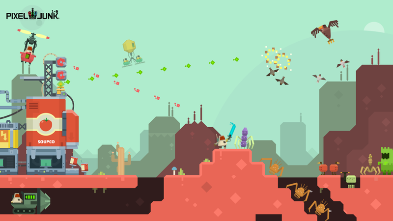 This Is The Next PixelJunk. It's a PC Game.