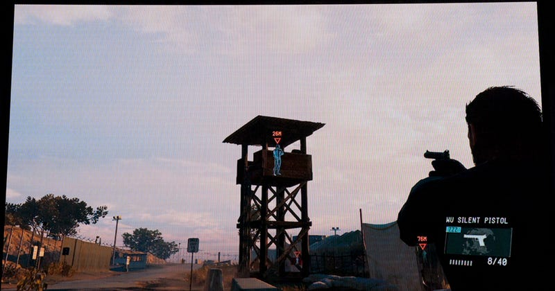 The Metal Gear Solid Side Mission Demo Ended With A Badass Car Jump