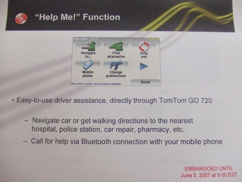 TomTom Go 720 Lets You Improve Maps As You Go