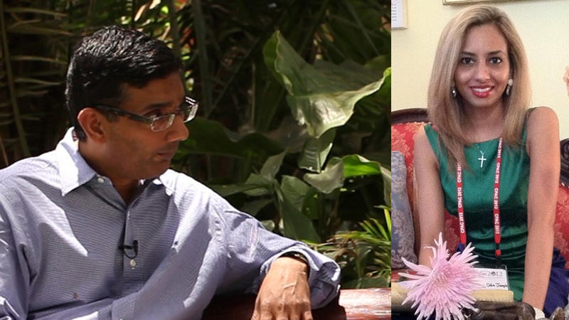 Married Dinesh D'Souza's Mistress: Also Married