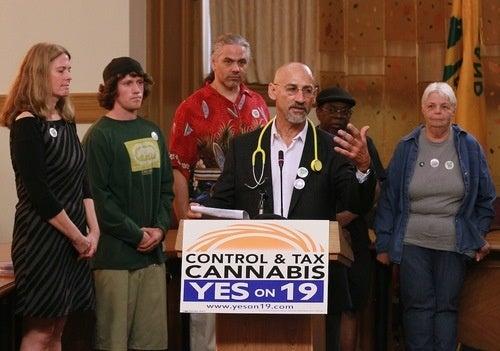 California Pot-Legalizing Prop. 19 Defeated
