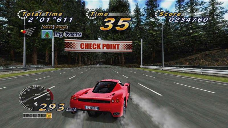 New HD Sega Outrun Arcade Sumo-Stomps The Original