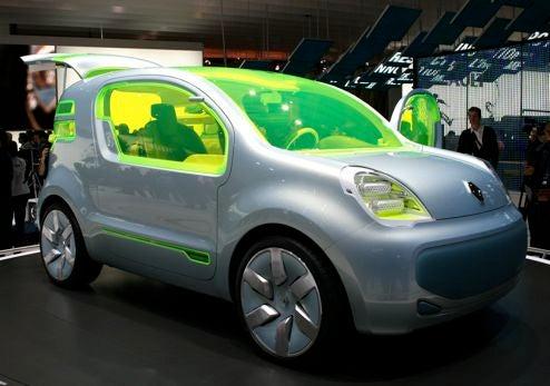 Renault ZE Concept Produces Zero Emissions, Lots Of Neon Glass