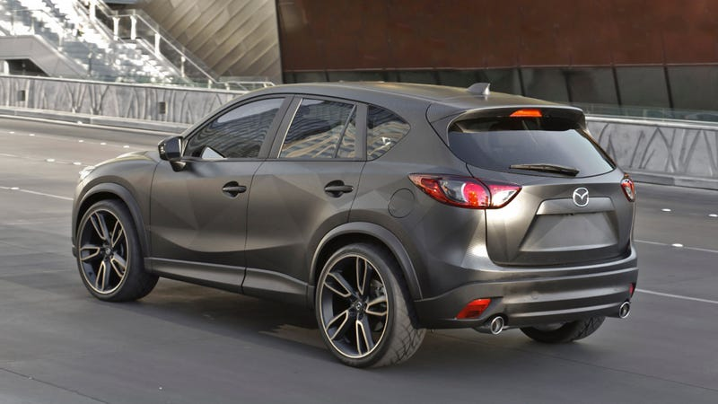 Mazda Dressed Up These CX-5s For SEMA, Including A 2.2-liter Diesel Dempsey-Mobile