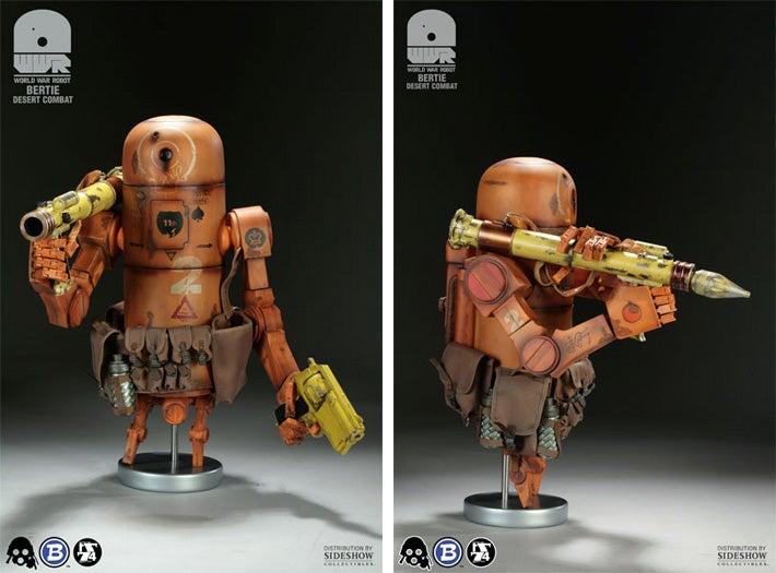 It's Bertie, the Pipebomb Robot Toy