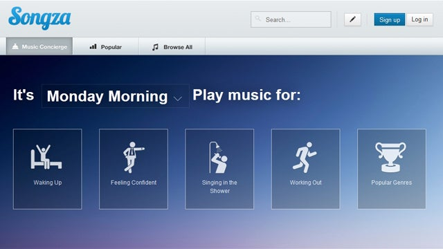 Songza Picks the Right Streaming Music Playlist for Any Mood