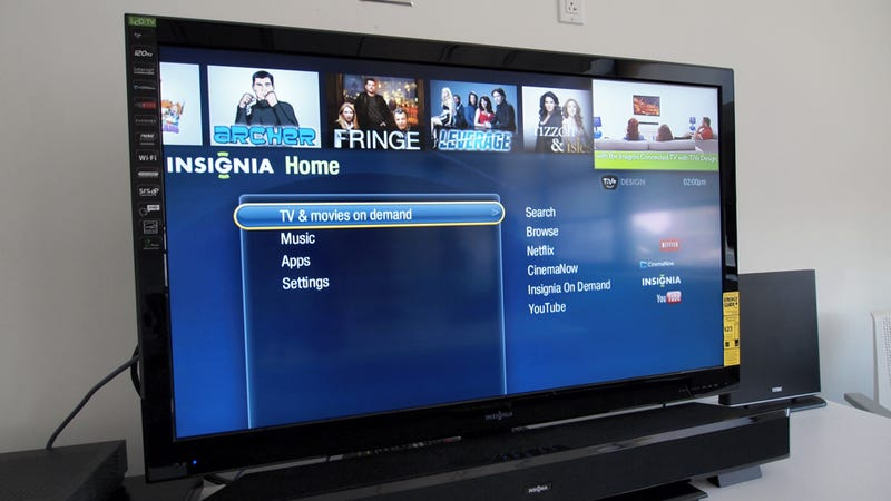"The Insignia TiVo TV: A ""Smart"" Television that Isn't Dumb"