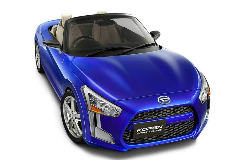 The Teeny Tiny Daihatsu Kopen Roadster Concept Looks Like A Ton Of Fun