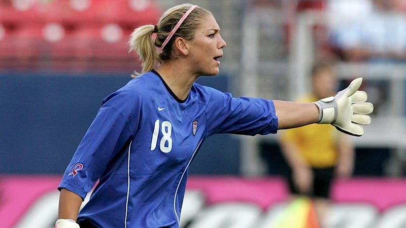 Hope Solo Goes on a Twitter Rant About Commentator Brandi Chastain's Soccer Ignorance