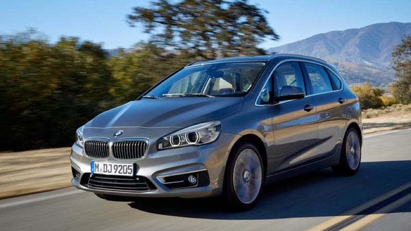 2015 BMW 2-Series Active Tourer: This Is The First Front-Drive BMW