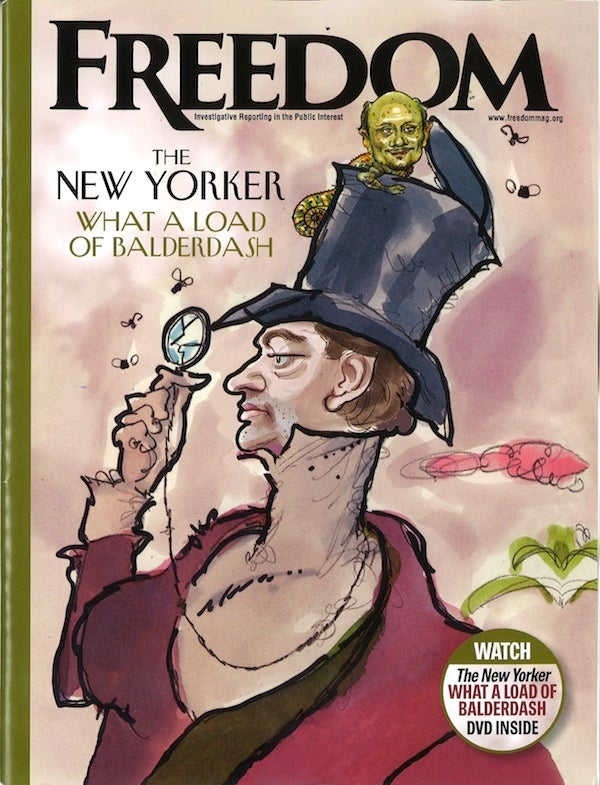 Scientology's Gaudy New Yorker Spoof