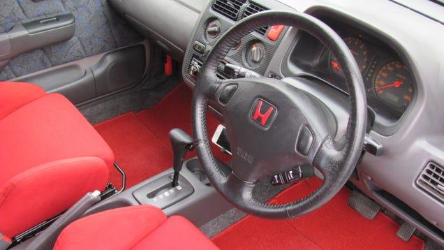 Project Honda Logo: Conceptual Design And Interior Modification