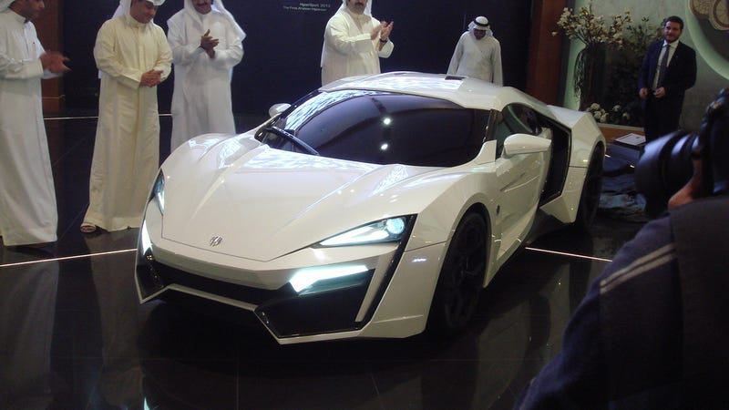 Arab worlds first car and Worlds most expensive SuperCar was unveiled in Kuwait