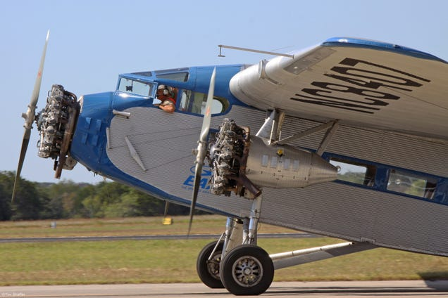 Flying History Ford Trimotor Nc8407