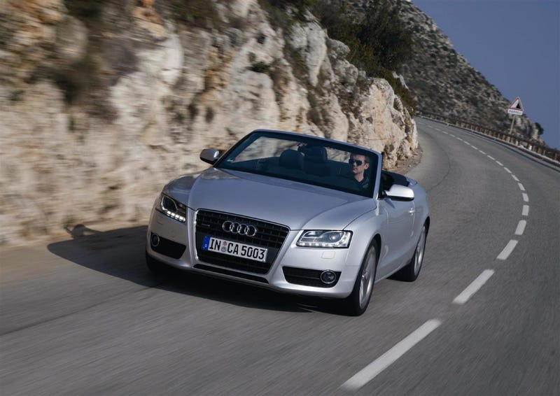 Audi A5, S5 Convertibles Open For Business