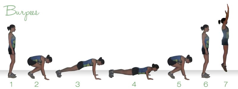 Your Friday afternoon workout