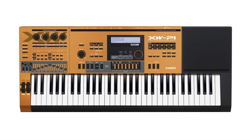 Well Hello, Creamsicle Colored Synthesizer