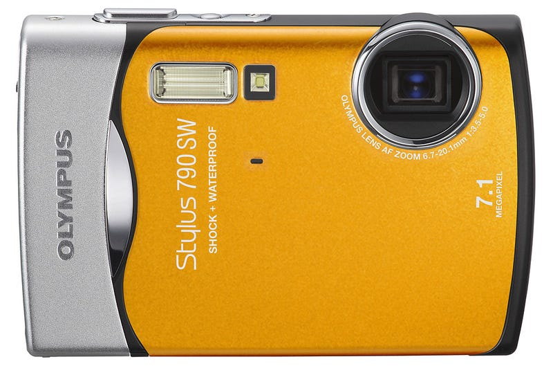 Olympus Stylus 790SW Adds Tech, Keeps Toughness, Lowers Price