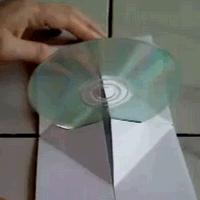 Pop-Up Paper CD Case
