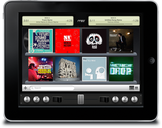 Mixr Shows the Delicious Promise of Multitouch Music iPad Apps