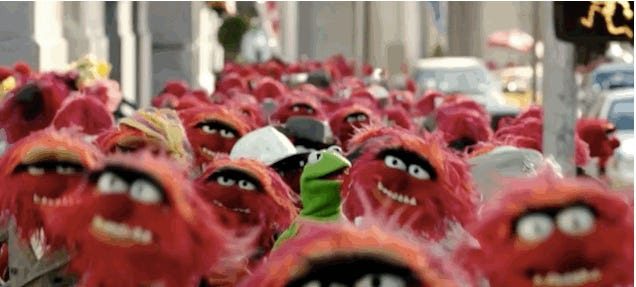 Every New Yorker is (an) Animal in New Muppets Commercial
