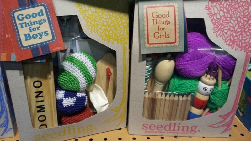 Knitting Is A 'Good Thing For Girls,' In Case You Were Wondering
