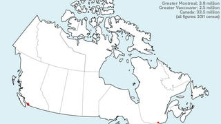 Reminder: Canada Is Empty