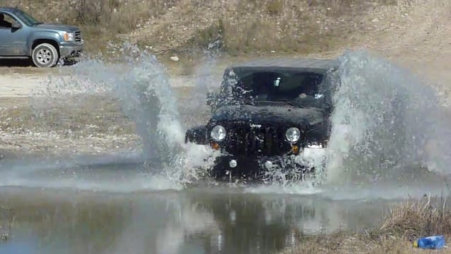 why did a new jeep wrangler die in ten inches of water. Black Bedroom Furniture Sets. Home Design Ideas