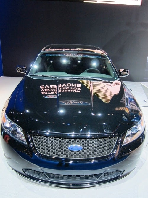 Ford Police Interceptor Stealth Concept